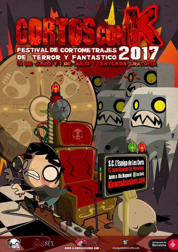 Cartel Cortos con K Festival 2017