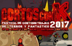 Cartel Cortos con K Festival 2017e